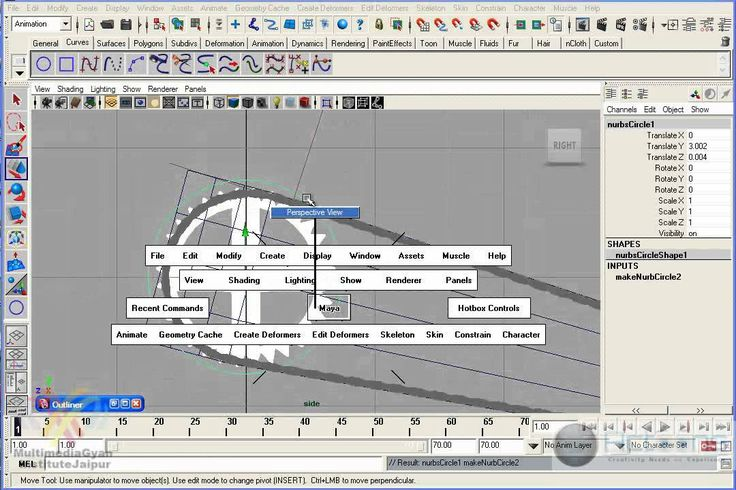 Cycle Chain Rig in Maya Part 02