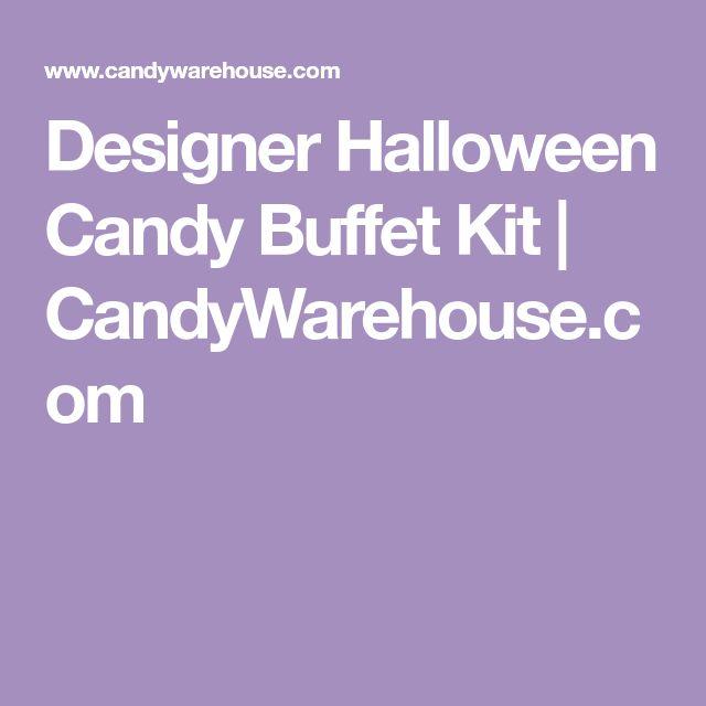 Designer Halloween Candy Buffet Kit | CandyWarehouse.com