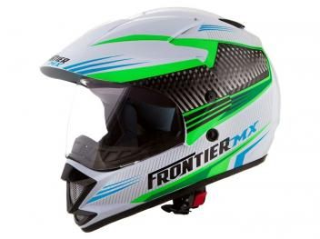 Capacete com Viseira Tamanho 58 - Mixs Frontier Air