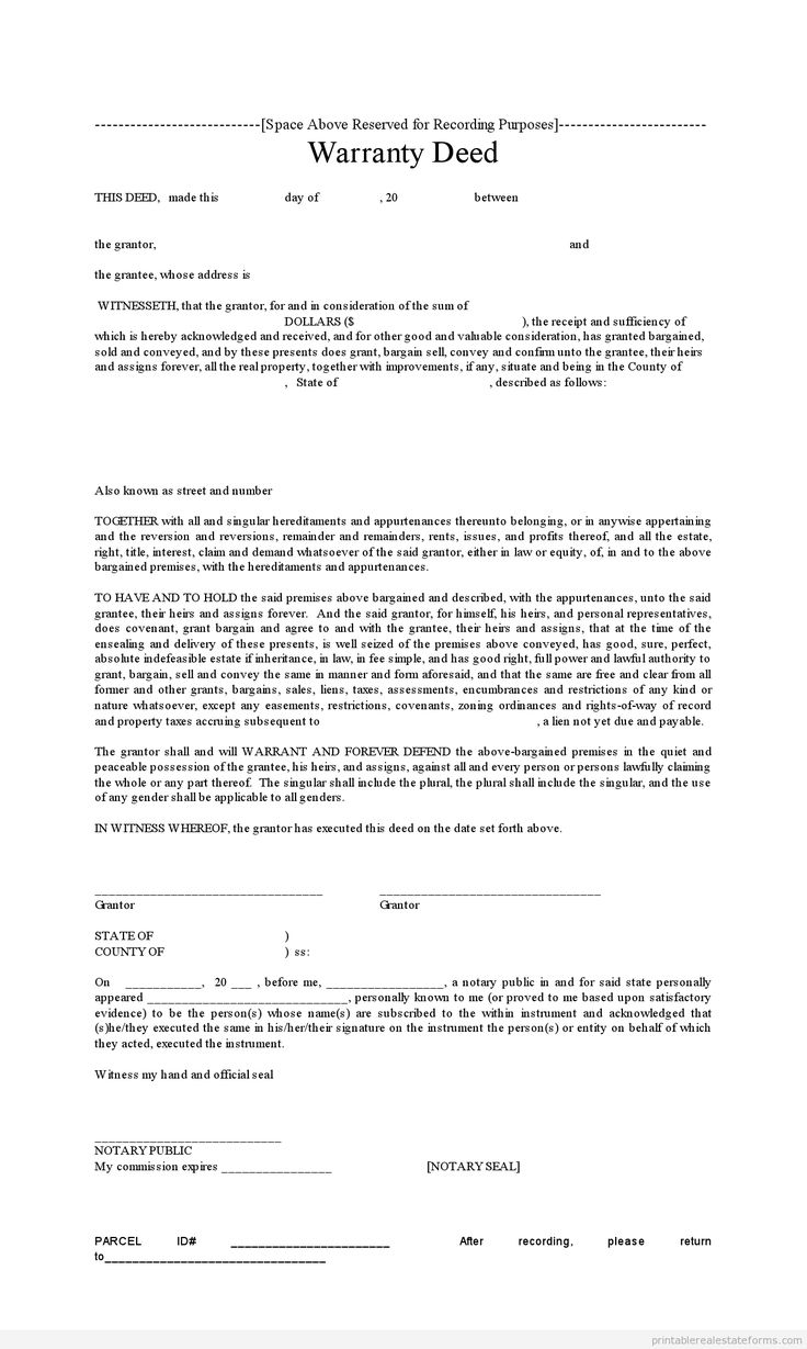 notarized document sample - free download