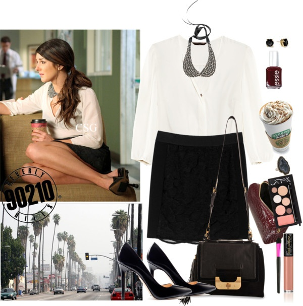 """90210 Annie Wilson"" by americangirl92 ❤ liked on Polyvore"