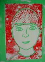 Autoportrait Andy warhol 2 impressions