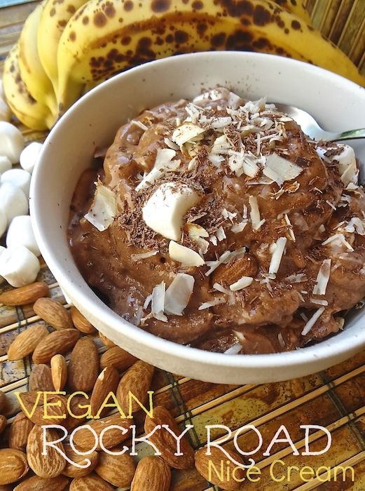 55 best where you get your protein vegan recipes images on in the mood to indulge on some rocky road get out your food processor and forumfinder Image collections