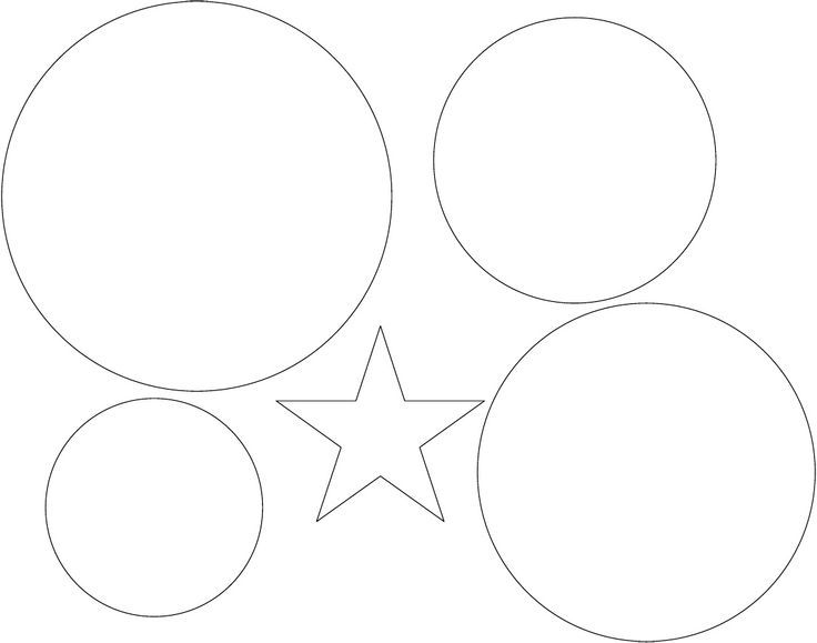 Captain America Shield Template Printable (With images ...