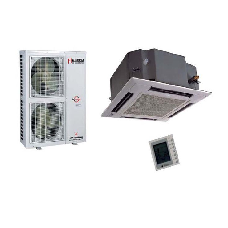 Klima Marketim: Fujitherma-FTHCX24-BA-Kaset-Tipi-İnverter-Klima-24000-Btuh