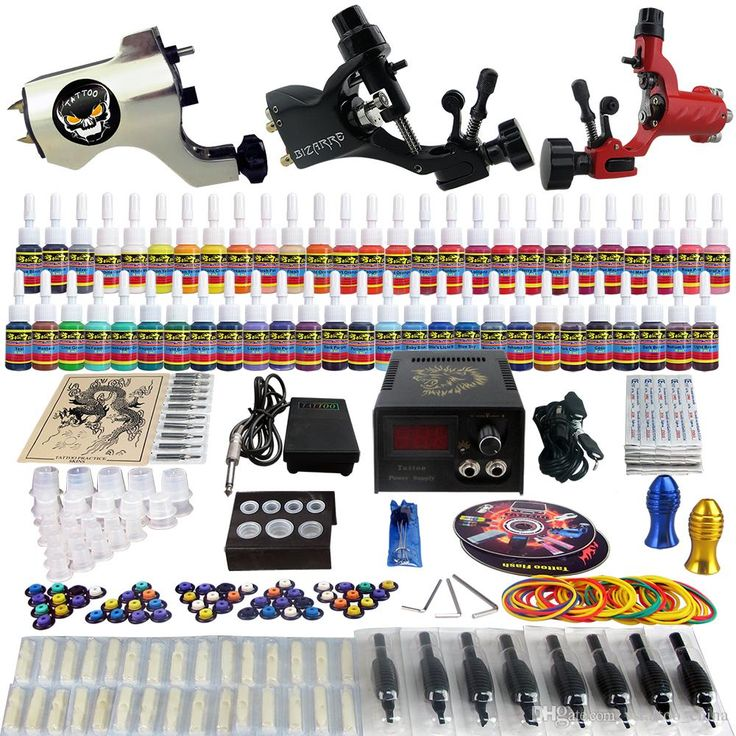 vstattoo_china recommends the professional  Solong Tattoo Complete Tattoo Kit 3 Pro Rotary Machine Guns 54 Inks Power Supply Needle Grips TK355 on DHgate.com. Best selling eikon tattoo supplies, best tattoo machines for beginners and sunskin tattoo machines, DHgate.com provides you whatever you want.