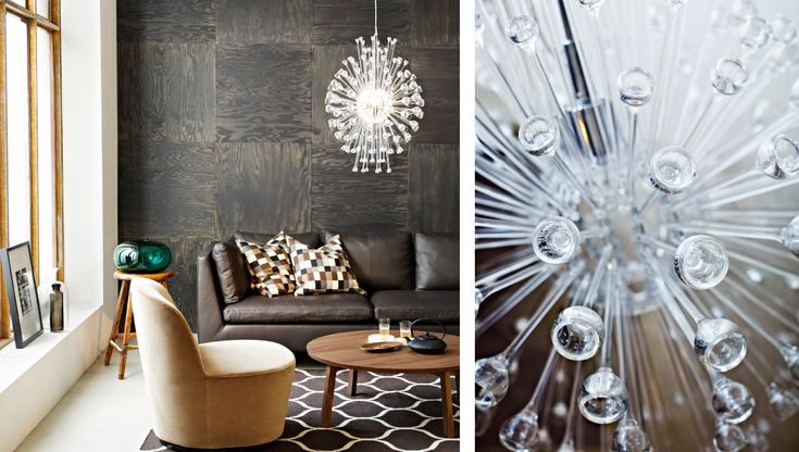 wohnzimmer eingerichtet mit produkten aus der stockholm kollektion u a stockholm kronleuchter. Black Bedroom Furniture Sets. Home Design Ideas