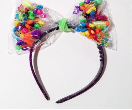 Candy Headband via Etsy
