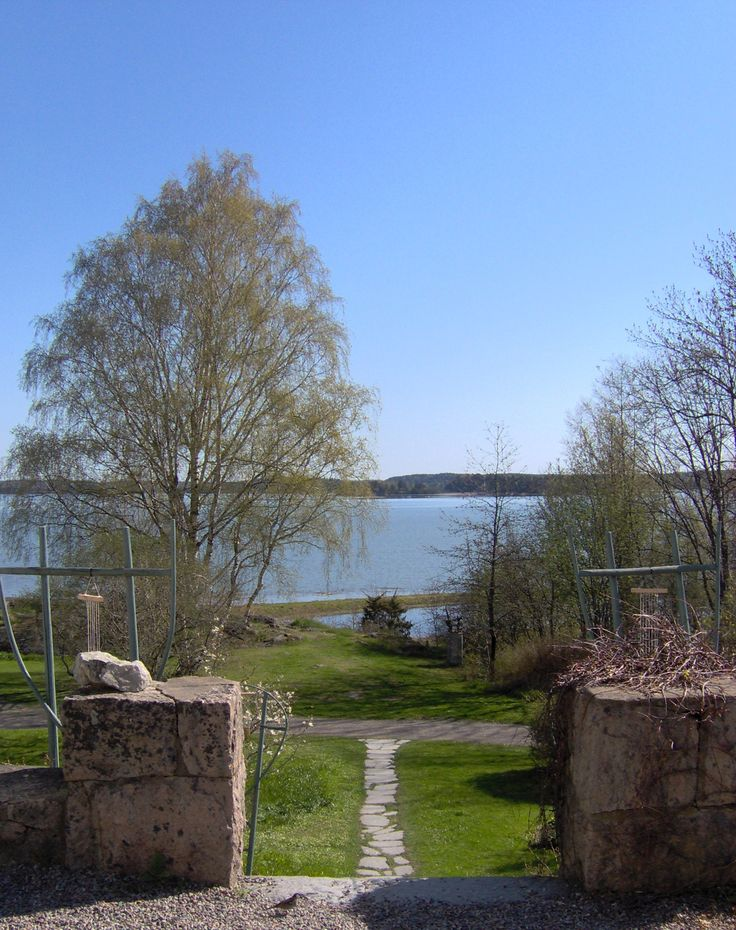 View from Vita Huset.
