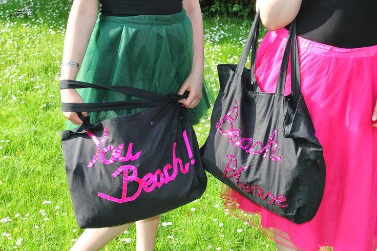 """""""Beach"""" Bags"""