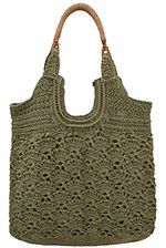 NexStitch™ Handbag Crochet Patterns : Metedeconk Tote Crochet Pattern