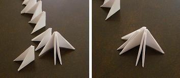 origami zwaan
