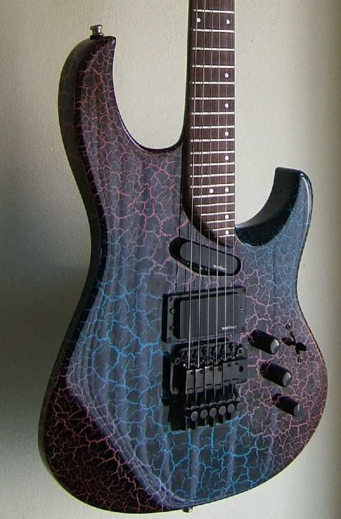 This guitar has 29 fucking frets. 29. AND it has a Floyd. You can literally play music that only dogs will hear.