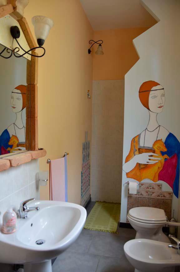 lavabo stanza Leonardo