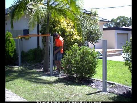 www.slimwall.com.au See how easy it is to install a SlimWall Designer Boundary Fence.