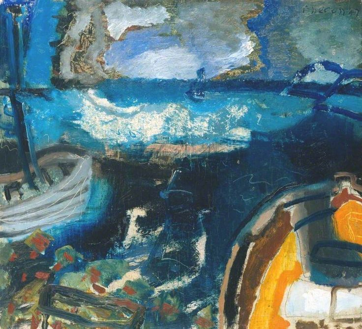 Boats at Night PATRICK HERON