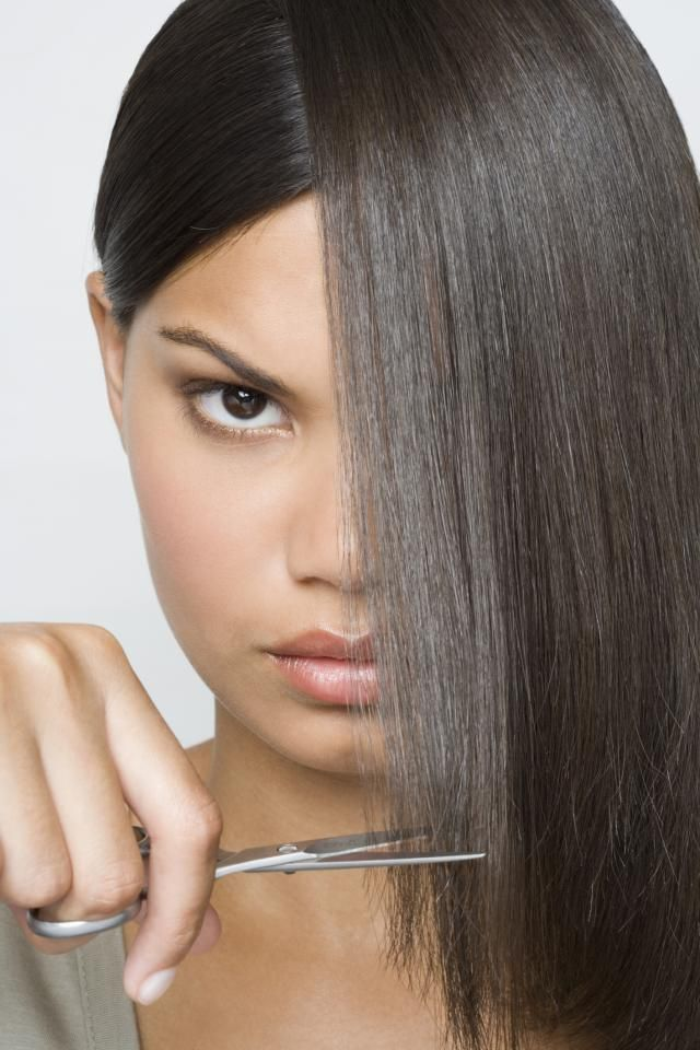 7 Tips on Maintaining Healthy Relaxed Hair: Trim as Needed