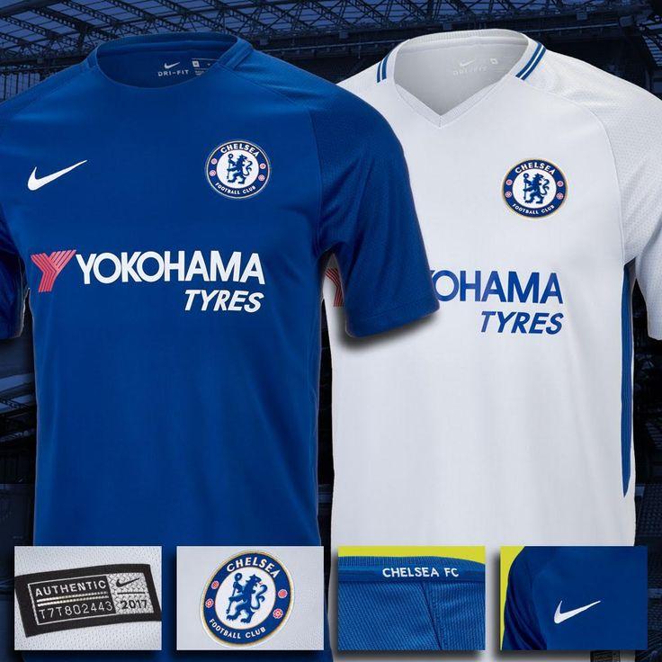 The new Chelsea jerseys. Shop > http://www.soccerpro.com/Chelsea-c147/