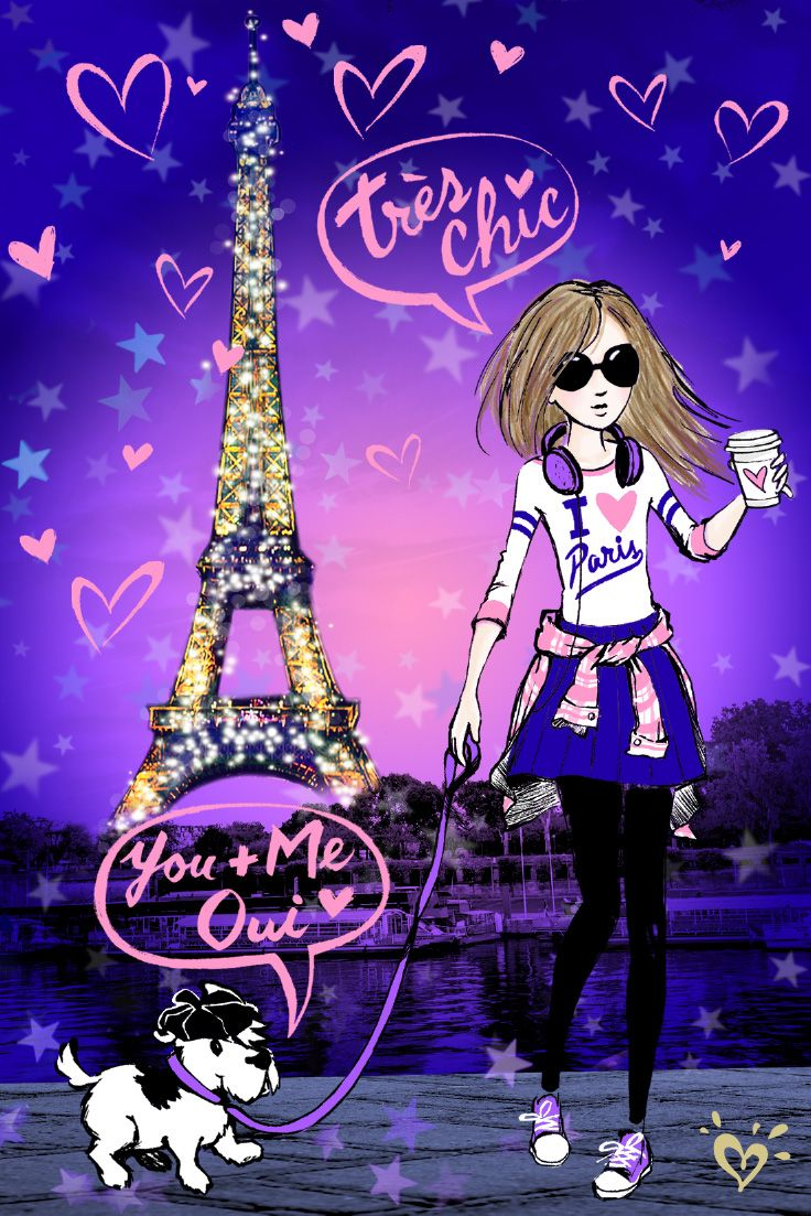 Cute Girly Ipad Wallpapers Paris Pups Amp Perfect Pieces Count Us In Hello World