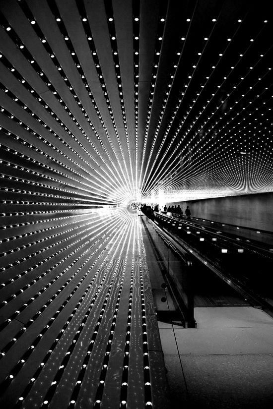 'Multiverse' LED Light Art by Leo Villareal (#TheBayLights) - D.C. National Gallery of Art (@ngadc)