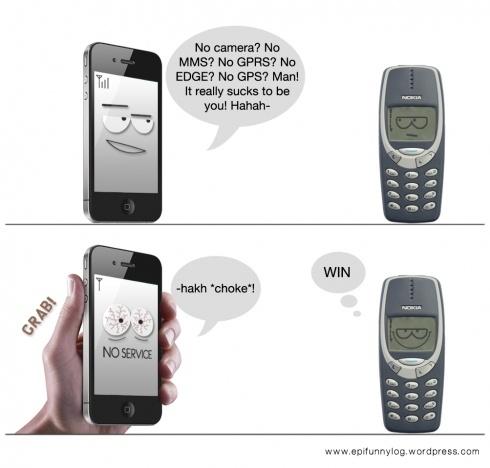 nokia 3310 vs iphone 5. IPhone 4 Versus Nokia 3310: Antennacious! 3310 Vs Iphone 5 Q