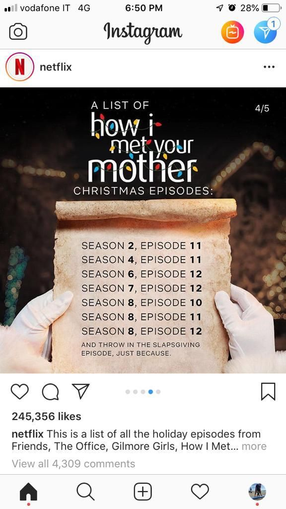 Himym Christmas Christmas Episodes How I Met Your Mother Christmas Fun