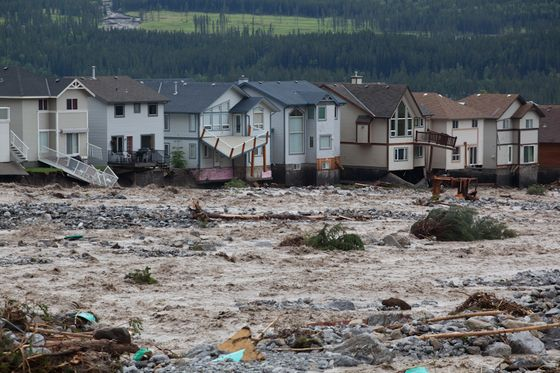 Canmore floods