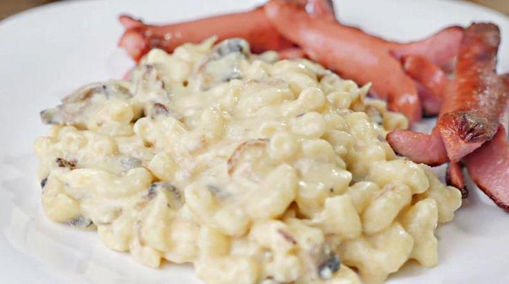 Познавательный портал - Американские макароны с сыром