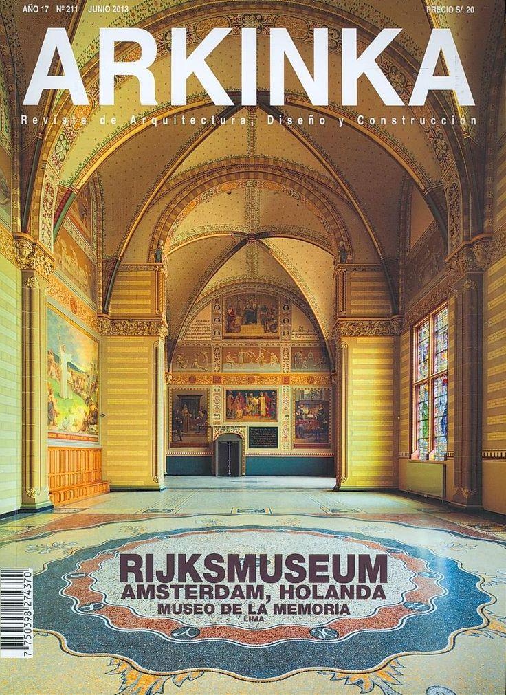 ARQUITECTURA (Arkinka: revista de arquitectura, diseño y construcción : año 17, n°   211, junio / 2013)