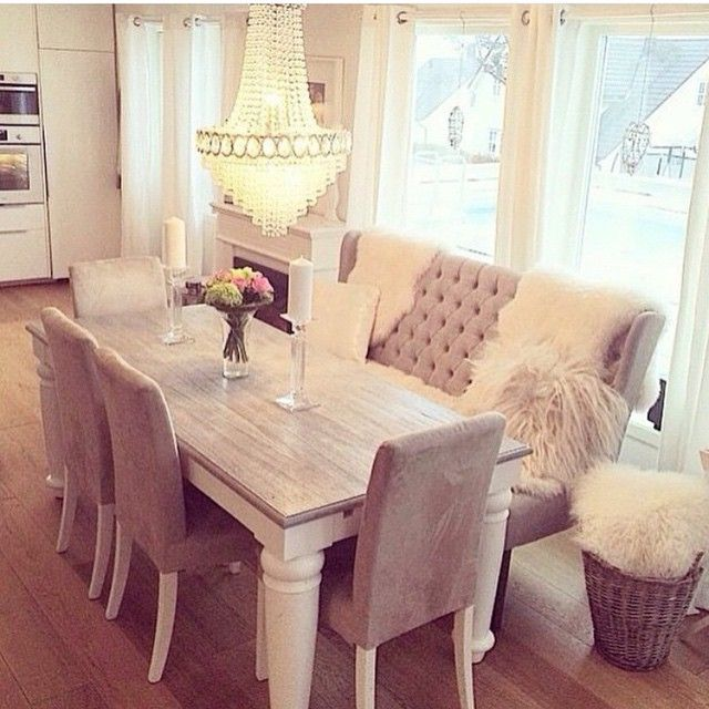 Cream Kitchen Tables Popular Cozy Dining Room Interior Design Home Decor  Luxury Inspiration More Ideas 2 Options For A Round Kitchen Table And Chairs  ...