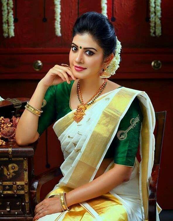 Pin By Aarokiaraja Aar On Kerala Saree Kerala Saree