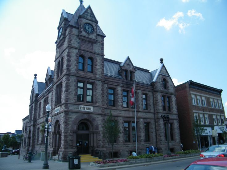 Goderich City Hall, slate roof