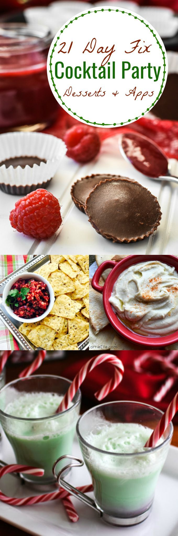 21 Day Fix Cocktail Party Apps and Desserts (with container counts!)