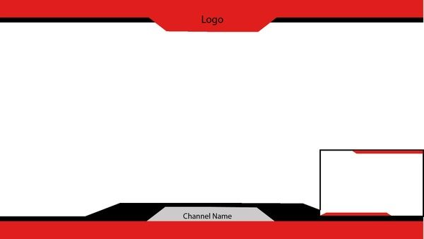 YouTube/Twitch overlay (Panther 1) | Stream Overlay