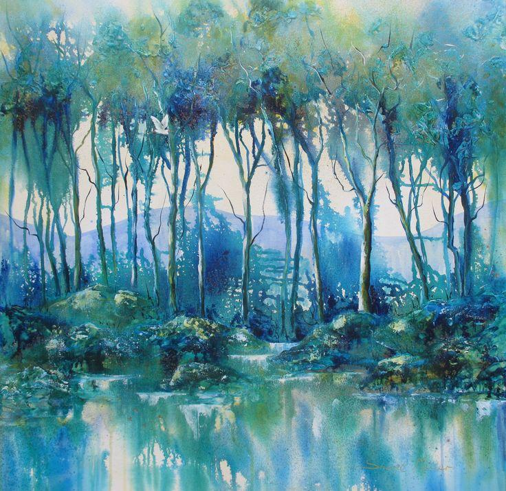 Minnamurra Solitude Ink by Sheryl Miller