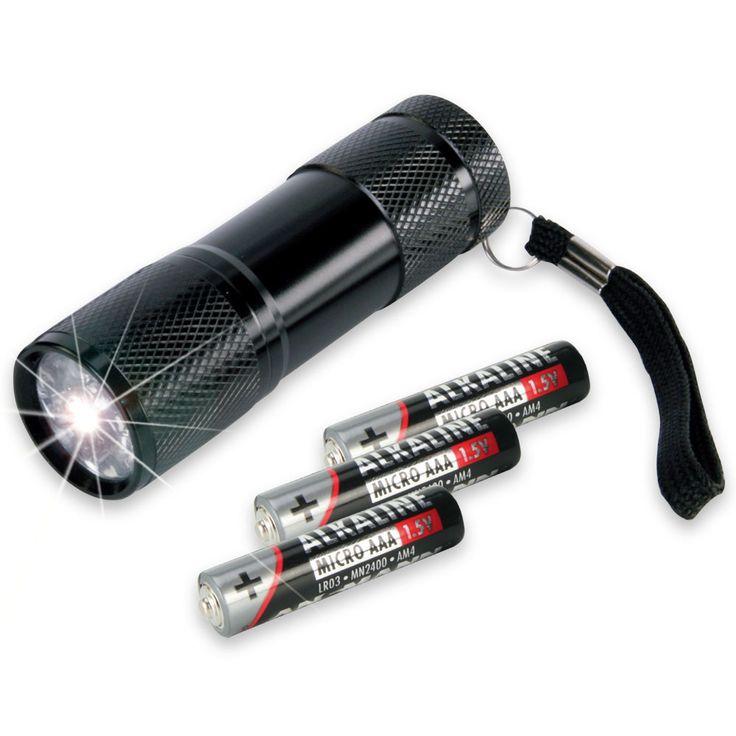 Ansmann Action 9 LED Flashlight
