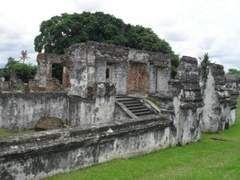 benteng kraton kaibon masjid agung banten lama di banten lama, Banten