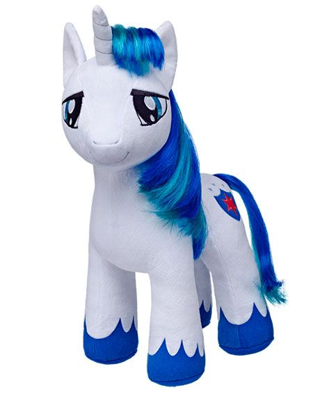 Shining Armor Build-a-Bear Plush. The weird thing is that he's missing half of his mane!