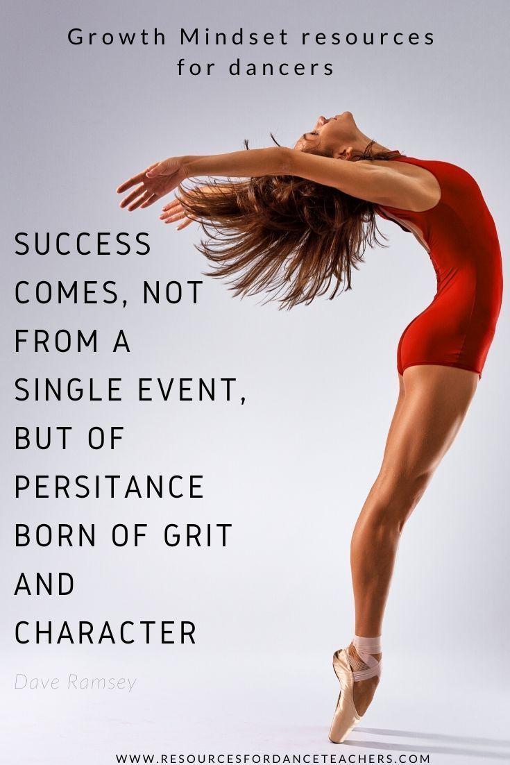 Success Mindset For Competitive Dancers Dance Quotes Dance Quotes Inspirational Success Mindset