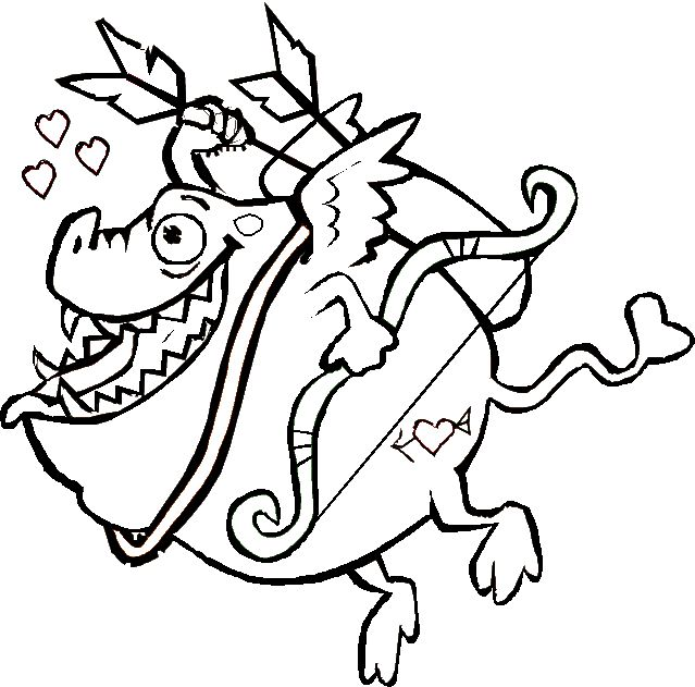 Cupid Coloring Pages Art Valentines Day Coloring Page Valentine