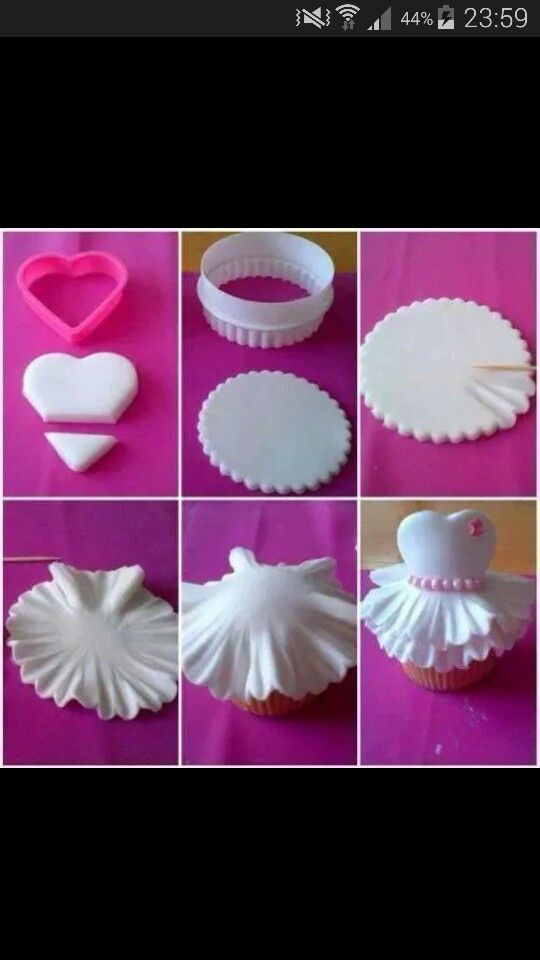 Cup cake robe