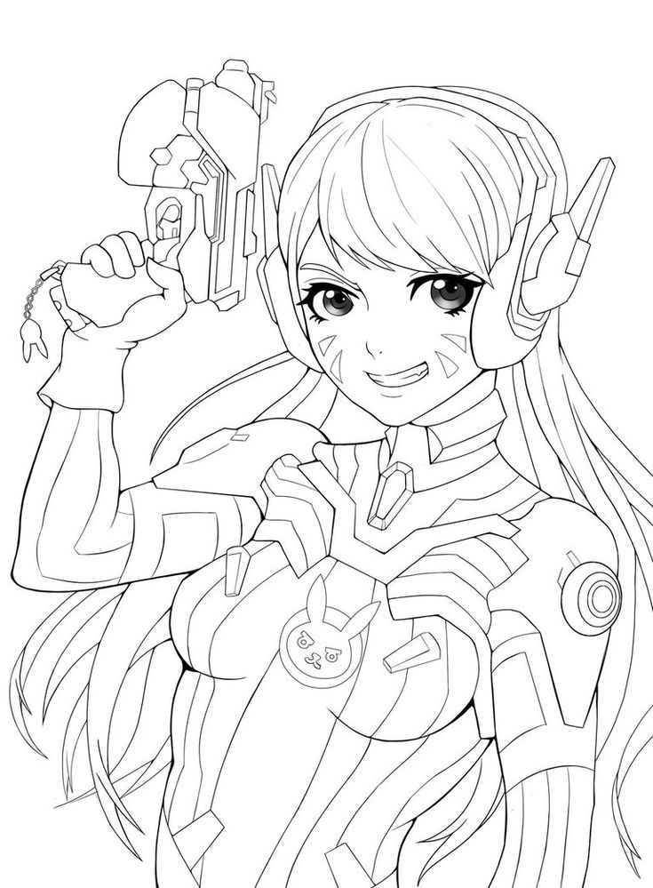 41 best coloriage overwatch images on pinterest art - Coloriage art ...