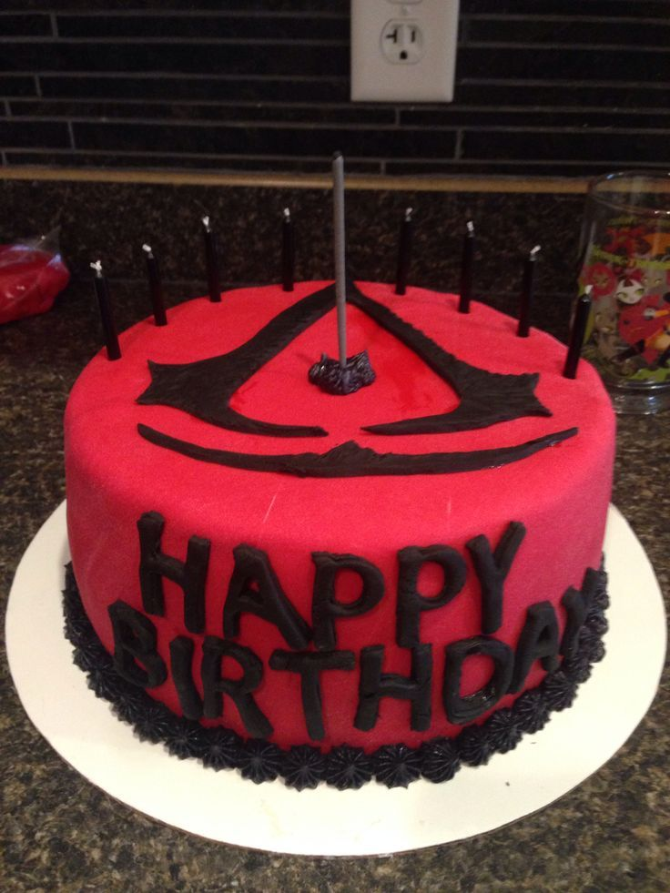 Cake Design Assassin S Creed : Assassin s Creed Cakes and Cupcakes Assassins creed ...