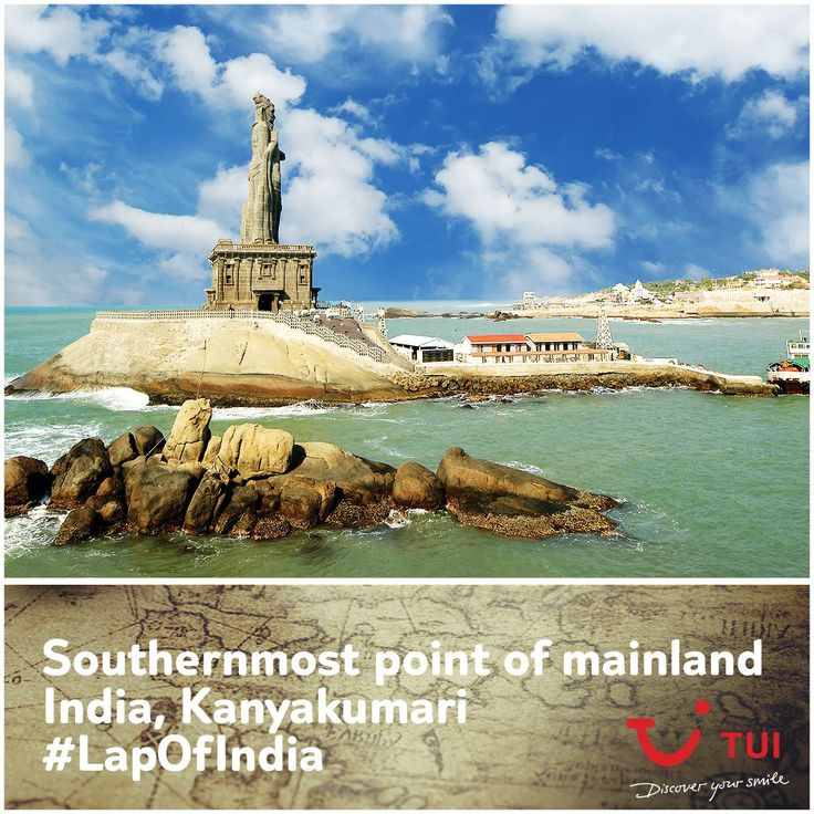 The #TuiCar has reached the southernmost tip of the country! While we've managed quite a few thrilling sights at Kanyakumari, we suggest the iconic Vivekananda Rock Memorial, the ancient Bhagvaty Amman Temple and a boat ride to the massive Thiruvalluvar Statue. #LapOfIndia