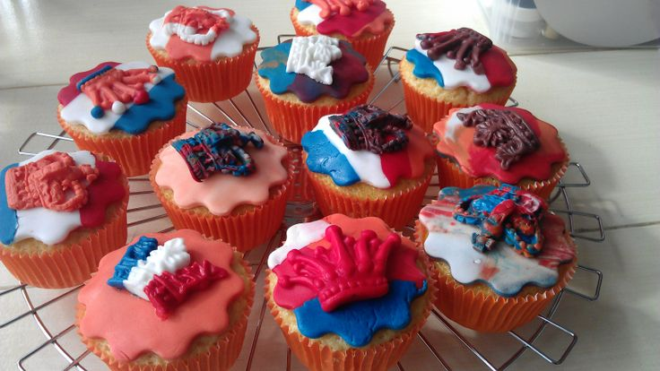 Kingsday cupcakes 2013