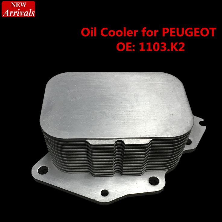 Cooling system   oil radiator oil cooler for PEUGEOT 206 HDI FORD FIESTA TDCI  OEM 1103.K2  256Q6L625AA  car-styling