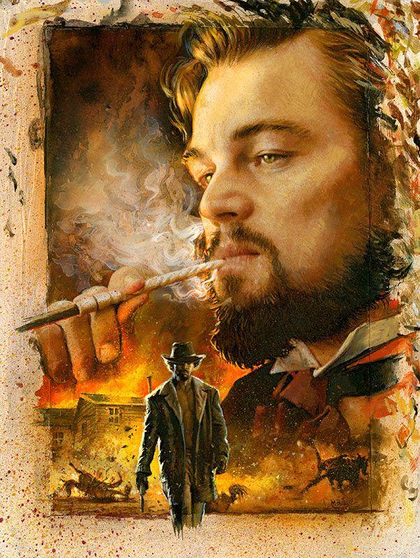 Django poster by Mike Butkus