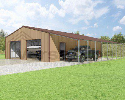 Summit Garage with Lean - To - 30 x 40 x 10