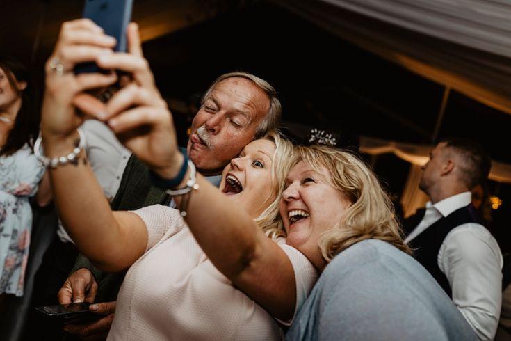 Selfie time! Photo by Benjamin Stuart Photography #weddingphotography #selfie #weddingparty #groupshot #party