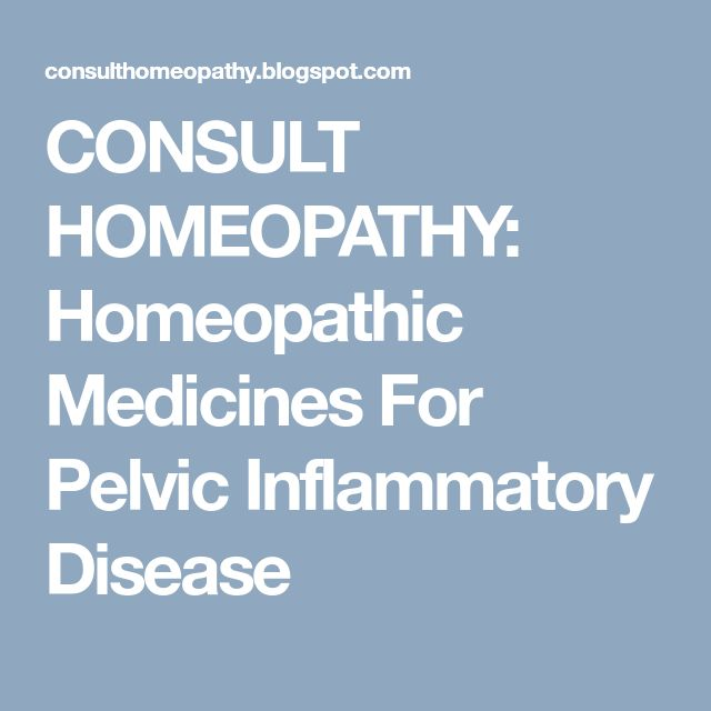 CONSULT HOMEOPATHY: Homeopathic Medicines For Pelvic Inflammatory Disease